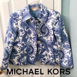 MICHAEL KORS Made in Italy Blazer Size 4
